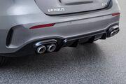 Диффузор заднего бампера Brabus для Mercedes A-Class W177
