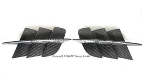 Карбоновые вставки в крылья Schatz для Mercedes SL R230 с 03/2008