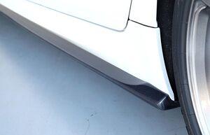 Карбоновые накладки 3DDesign на пороги BMW G30 5-серия
