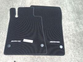 Велюровые коврики AMG для Mercedes SLK R172