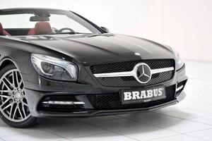 Накладка переднего бампера Brabus для Mercedes SL R231
