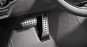 Оригинальные накладки на педали АКПП для Mercedes C-Class W205