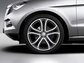 21'' Литой диск для Mercedes ML W166