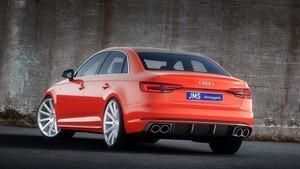Задний диффузор JMS для Audi A4 B9