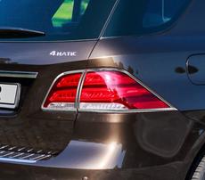 Хромированные накладки на фонари Schatz для Mercedes GLE W166