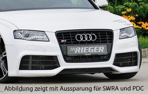 Передний бампер Rieger для Audi A4 B8