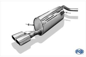 Глушитель FOX для Audi A1 8X 1.4 TFSI
