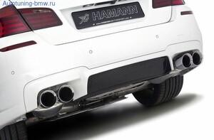 Карбоновый диффузор Hamann для заднего бампера BMW M5 F10 5-серия