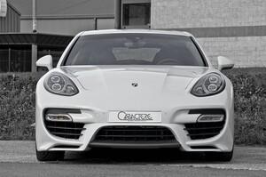 Передний бампер Caractere для Porsche Panamera Turbo
