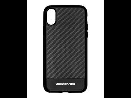Карбоновый чехол AMG для iPhone X / iPhone XS