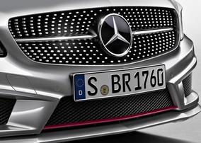 Решетка радиатора Diamond для Mercedes A-Class W176
