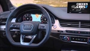 Вставка в руль SQ7 для Audi Q7 4M