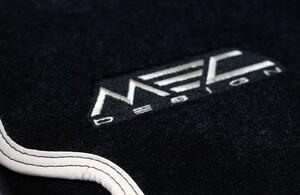 Велюровые коврики MEC Design для Mercedes E-Class Coupe C207