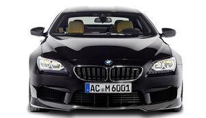 Карбоновая накладка переднего бампера AC Schnitzer для BMW M6 F06 Gran Coupe