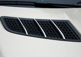 Хромированные накладки на капот Schatz для Mercedes SLK R172