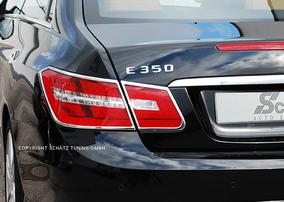Хромированные накладки на фонари Schatz для Mercedes E-Class Coupe C207