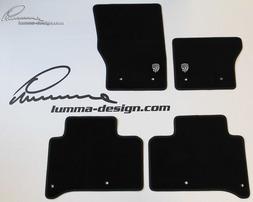 Велюровые коврики Lumma для Range Rover Sport