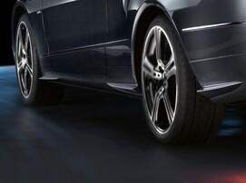 Накладки на пороги Mercedes Sport для Mercedes E-Class Coupe C207