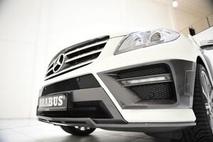 Накладка переднего бампера Brabus для Mercedes ML W166