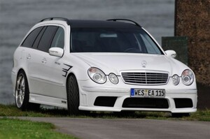Передний бампер Prior Design для Mercedes E-Class W211