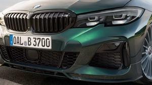 Накладка переднего бампера Alpina для BMW G20