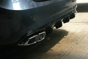 Карбоновый диффузор для Mercedes E-Class W212 до 04/2013