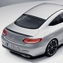 Спойлер на стекло для Mercedes E-Class Coupe C238