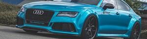 Передние расширители Prior Design для Audi A7 RS7