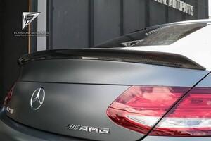 Карбоновый спойлер Boca для Mercedes C205