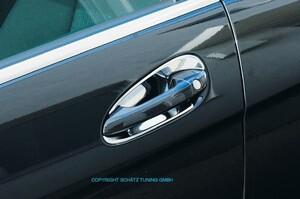 Хромированные накладки под ручки Schatz для Mercedes W204 X204