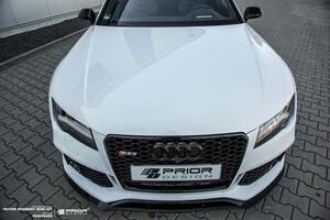 Передний сплитер Prior Design для Audi A7 RS7