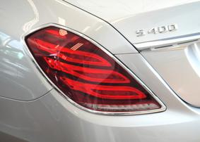 Хромированные накладки на фонари Schatz для Mercedes S-Class W222