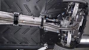 Выхлопная система Capristo для Mercedes GLA45 AMG
