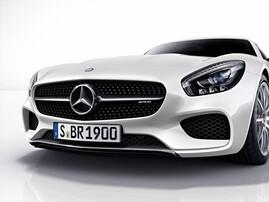 Карбоновая накладка переднего бампера для Mercedes AMG GT