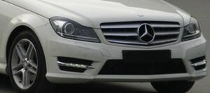 Решетка радиатора Avantgarde для Mercedes C-Class W204