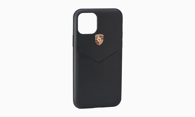 Кожаный чехол Porsche для iPhone 11 Pro