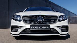 Накладки на передний бампер Piecha для Mercedes W213
