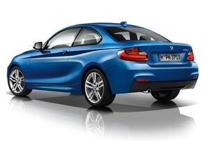 Боковые пороги «M» для BMW F22 2-серия