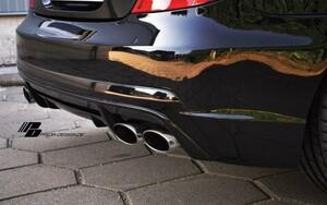 Задний бампер Prior Design для Mercedes SLK R171