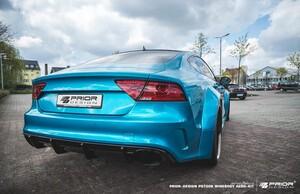 Задний бампер Prior Design для Audi A7 RS7