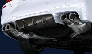 Задний диффузор M Performance для BMW M5 F10