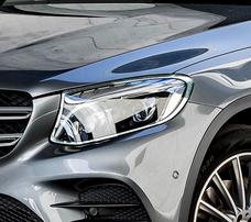 Хромированные накладки на фары Schatz для Mercedes GLC