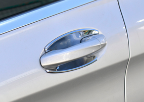 Хромированные накладки под ручки Schatz для Mercedes W205 W222