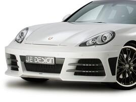 Передний бампер JE Design для Porsche Panamera