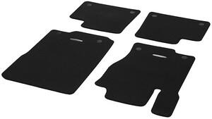 Велюровые коврики для Mercedes ML/GLE W166 и GL/GLS X166