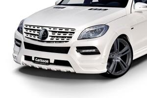 Накладка переднего бампера Carlsson для Mercedes ML W166