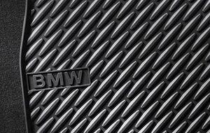 Резиновые ножные коврики для BMW F12/F13 6-серия, задние