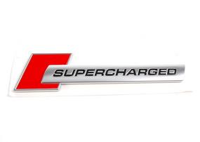 Шильдик Audi Supercharged