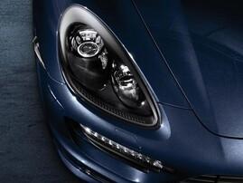 Черные фары для Porsche Cayenne 958