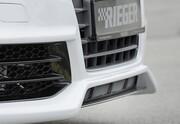 Сплитер переднего бампера Rieger для Audi A3 8V